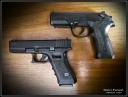 Beretta PX4 & Glock 17
